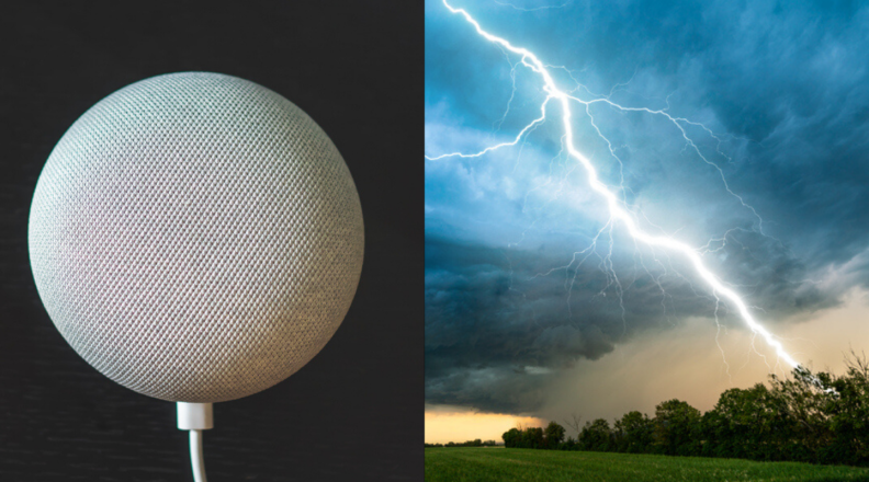 Google Home Mini and lightning