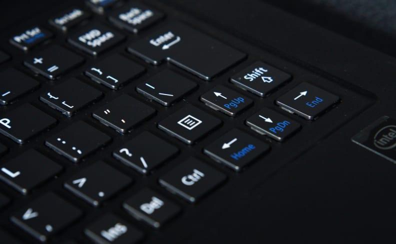 LaVie Z - Keyboard