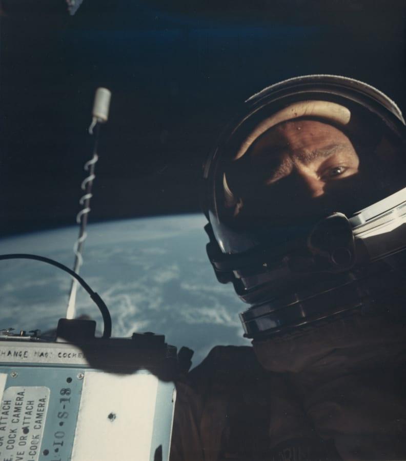 Buzz Aldrin Selfie