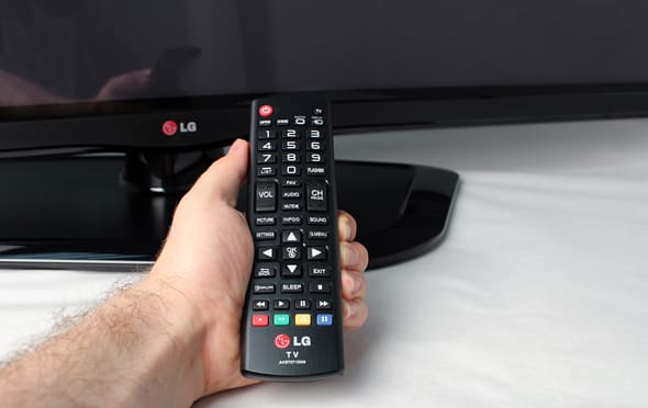 This little remote has everything you need for successful TV watching.