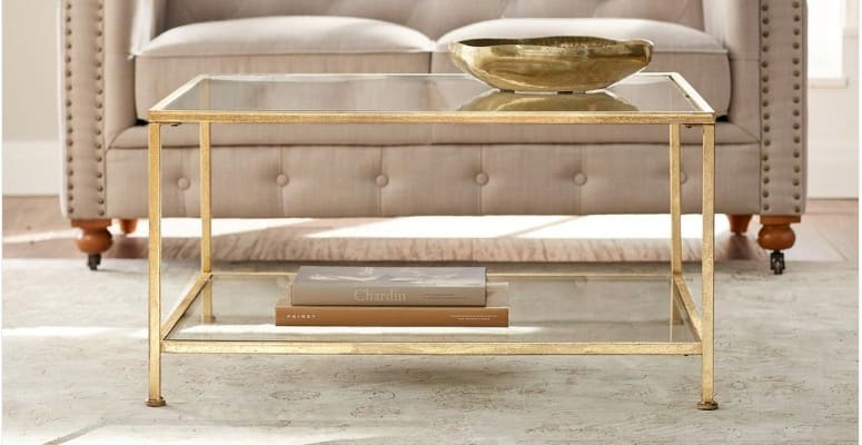 Bella-aged-cold-square-glass-coffee-table