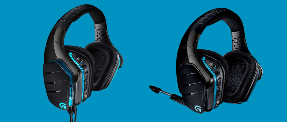 The new Logitech Artemis G633 and G933 headsets