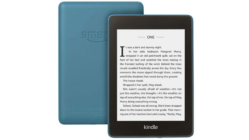 A reading tablet.