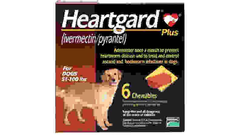 Heartgard Plus Chewable Tablets for Dogs