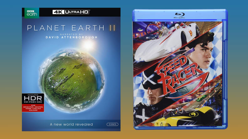Planet Earth 2 and Speed Racer on Blu-ray
