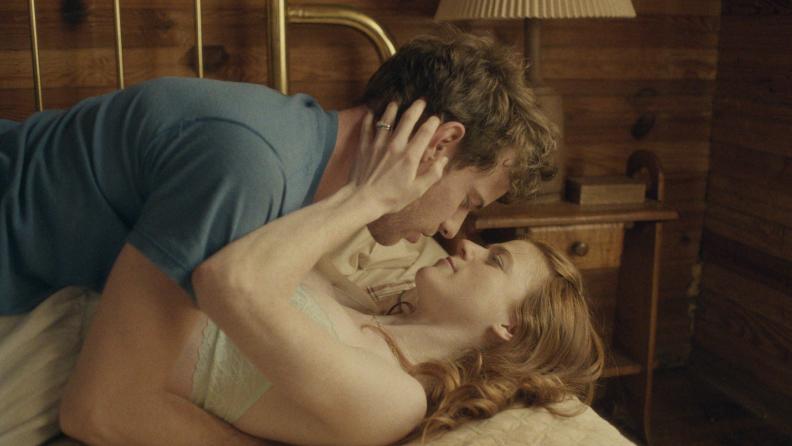 Rose Leslie and Harry Treadaway play the newlyweds in 'Honeymoon.'