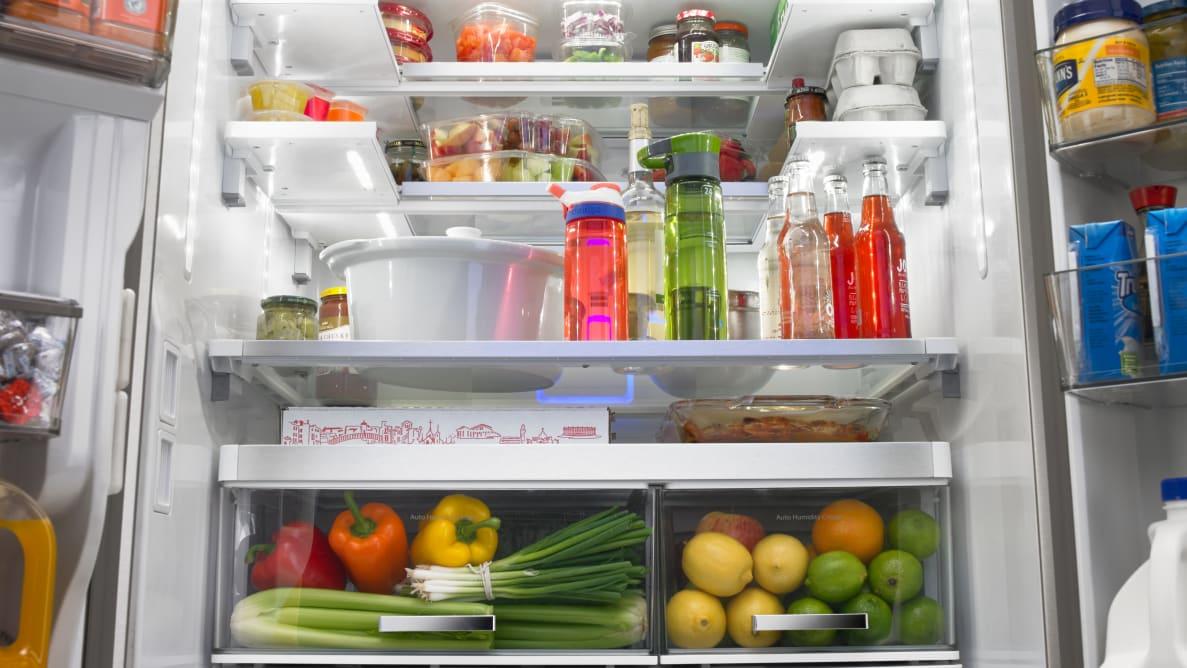 Whirlpool's Smart French Door Fridge is the most flexible fridge we've ever seen.