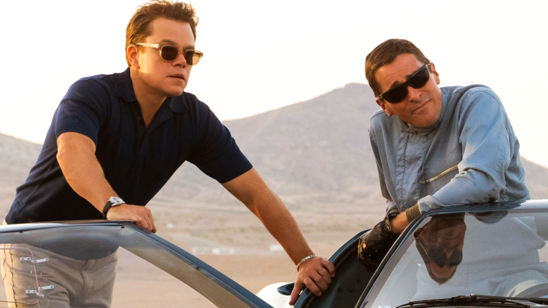 Matt Damon and Christian Bale star in Mangold's 'Ford v Ferrari.'