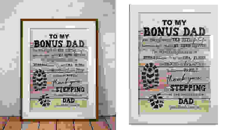 Bonus dad print