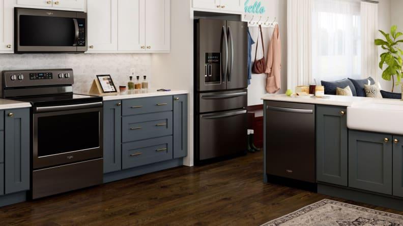 Whirlpool-black-stainless-kitchen