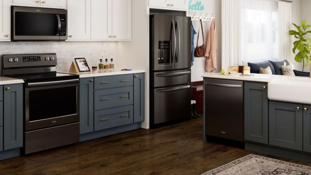 Whirlpool-black-stainless-kitchen