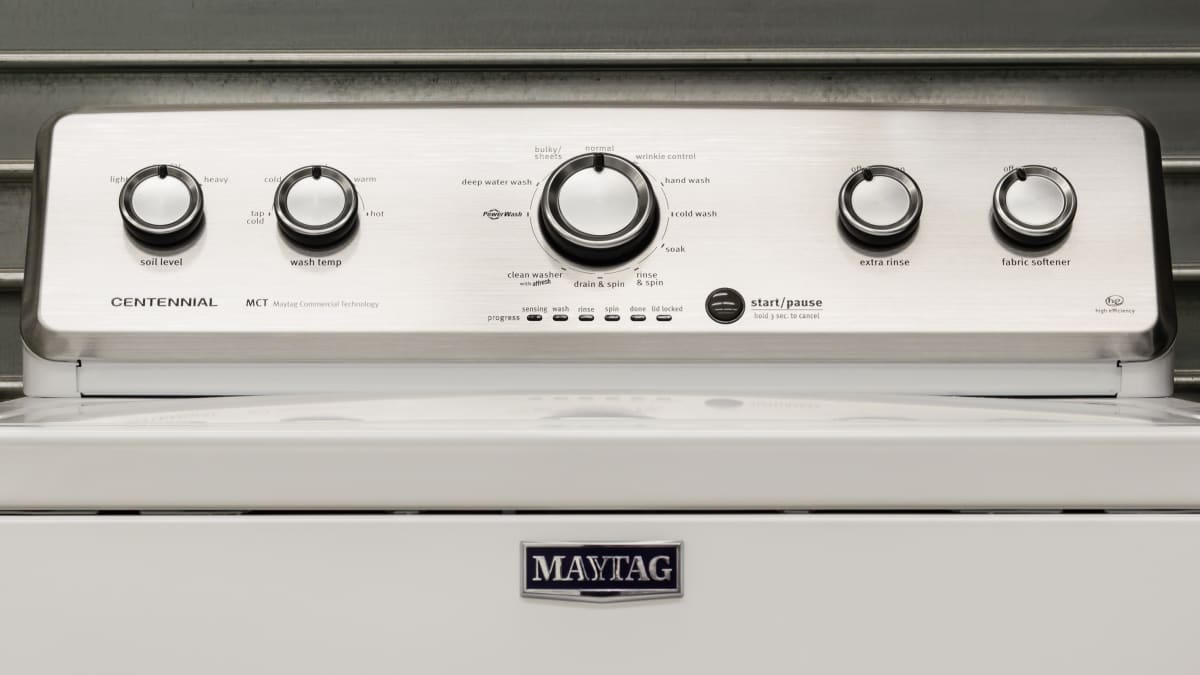 Maytag Centennial MVWC555DW Washing Machine Review - Reviewed Laundry