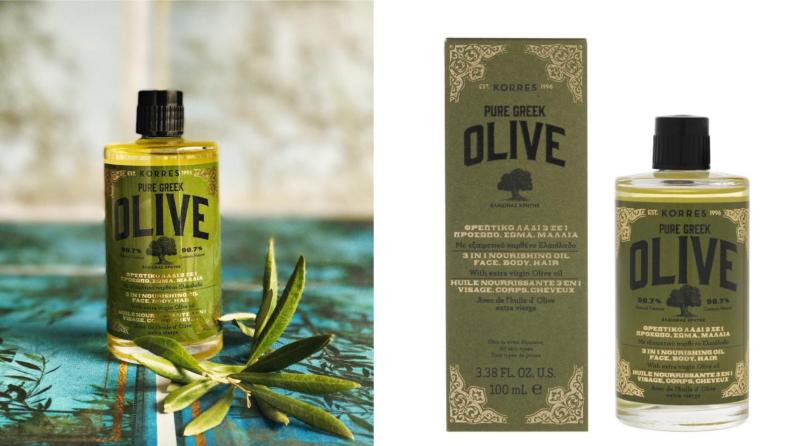 Korres Greek Olive Oil 3-in-1 Nourishing & Anti-Aging Oil