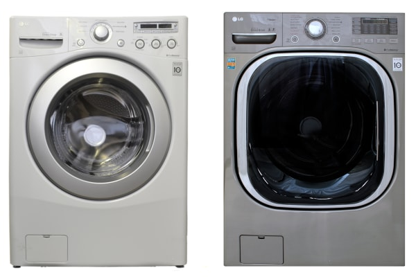 It doesn't matter if its a $700 (WM2250CW, left) or a $1,300 washer (WM4070V), if it's an LG front loader the TWIN system will be compatible.