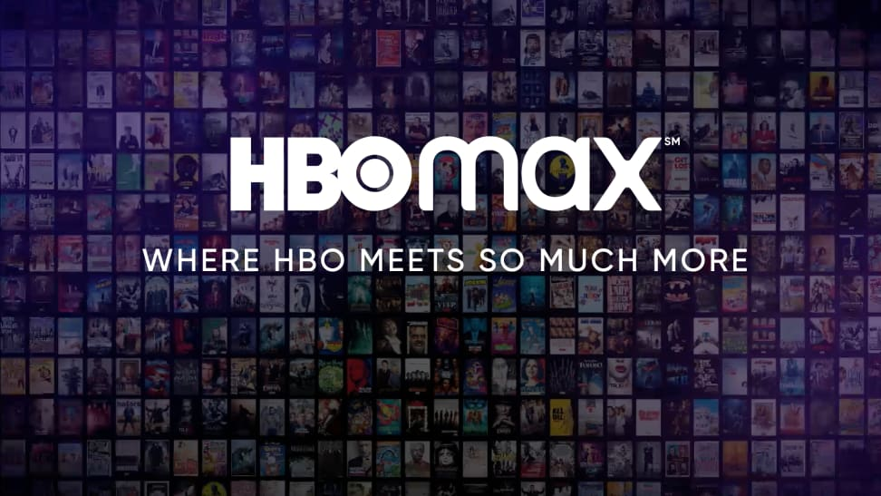 The logo of the HBO Max streaming service.