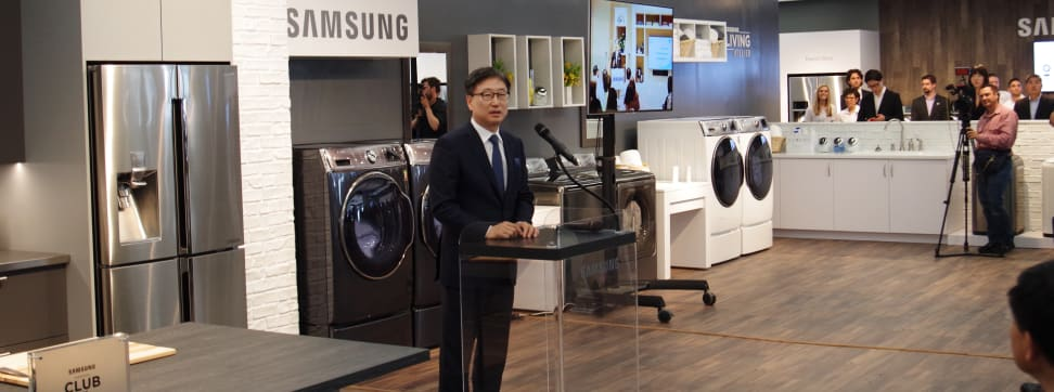 Today Samsung showed off four new appliances at a lavish NYC event. We've got full reviews of three.