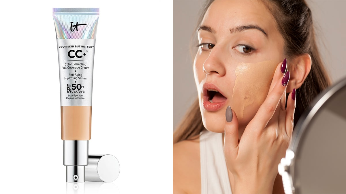 What's the difference between a BB and CC cream—and should you use one?