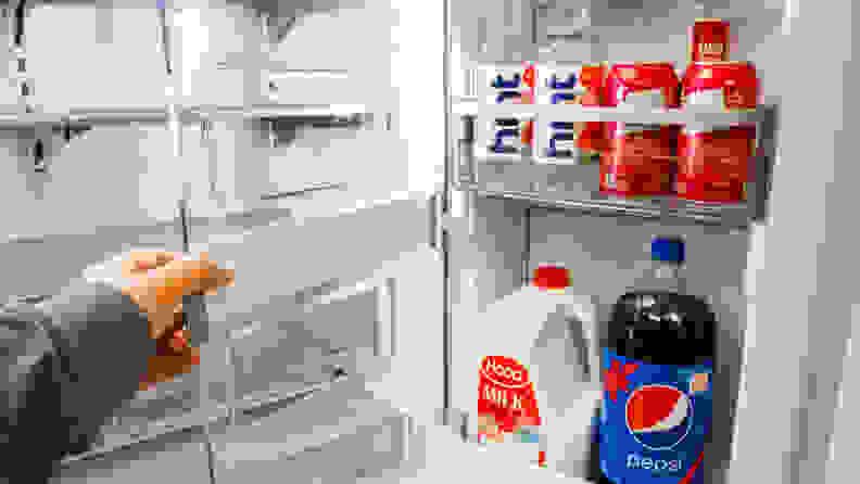 LG LRFDC2406S French-Door Refrigerator Review—Door-in-door