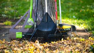 We tested rakes from brands like Ames, Fiskar, Truper, Gardenite, and Razor-Back.