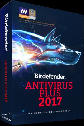 Product Image - Bitdefender Antivirus Plus 2017