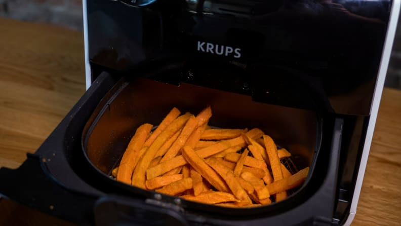 Air Fryer - Open with Fries