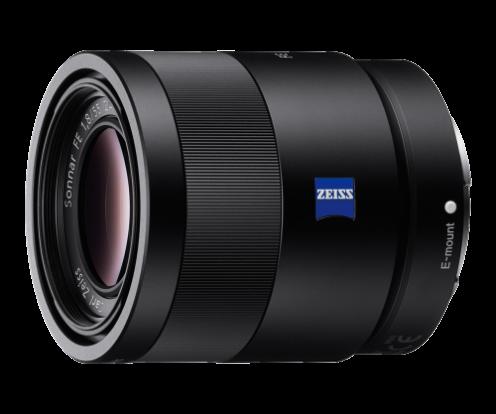 Product Image - Sony Sonnar T* FE 55mm f/1.8 ZA Full-frame E-mount Prime Lens