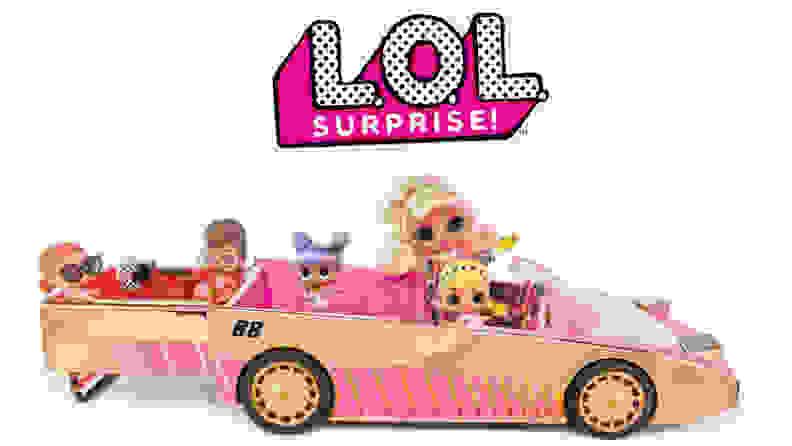 L.O.L Surprise doll car