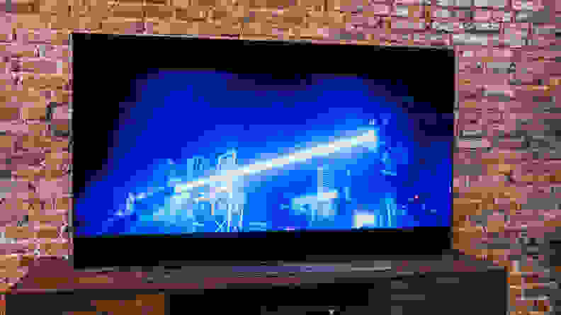 LG C1 OLED TV - Peak Brightness