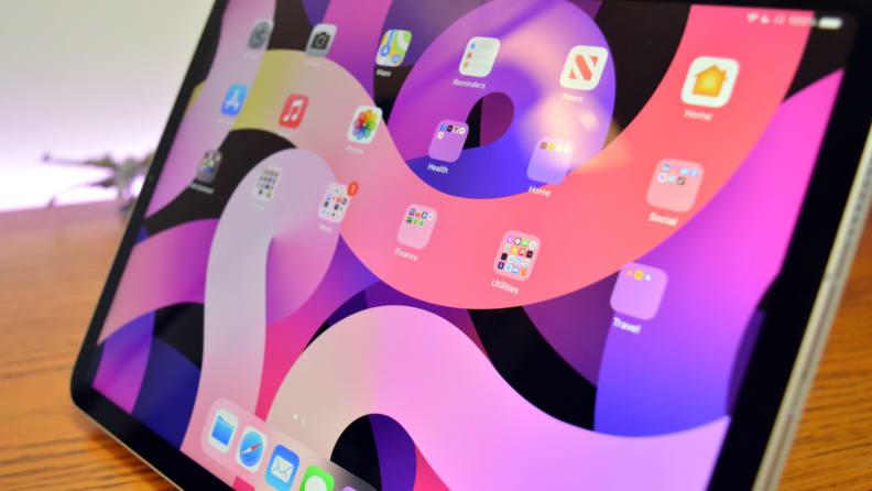 Apple iPad Air 2020 Display