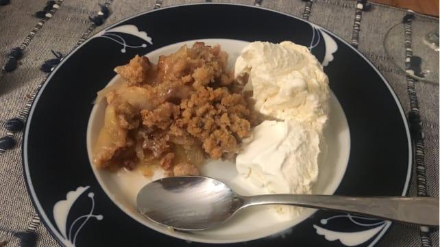 HelloFresh Thanksgiving - Apple Crisp