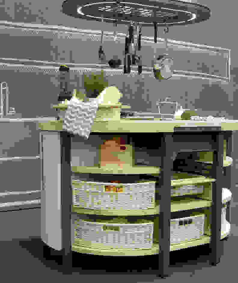 Millennial kitchen island
