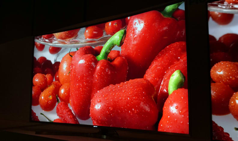 Samsung quantum dots at CES 2015