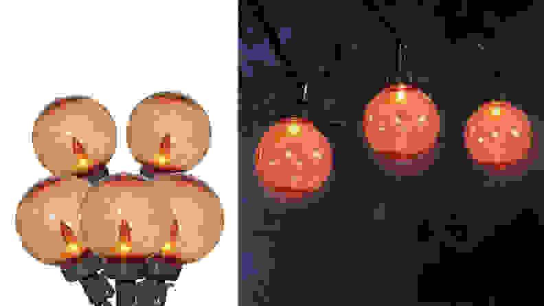 35-Count Incandescent G40 String Halloween Lights