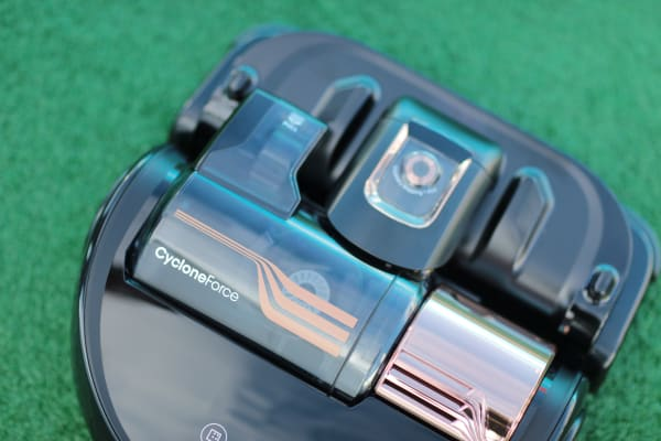 Samsung put some of its full-sized vacuum technology into the PowerBot.