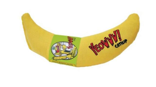Catnip chew toy