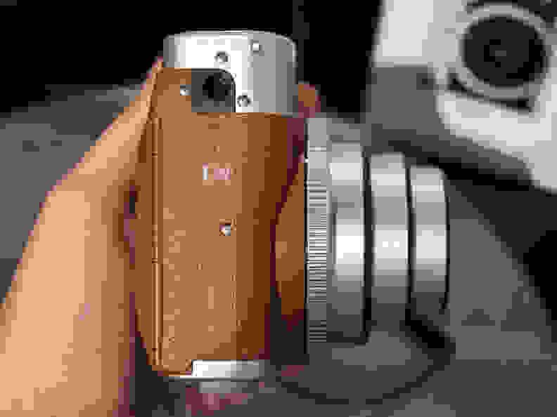 Instax Mini 90 Neo Classic (Brown) –Bottom