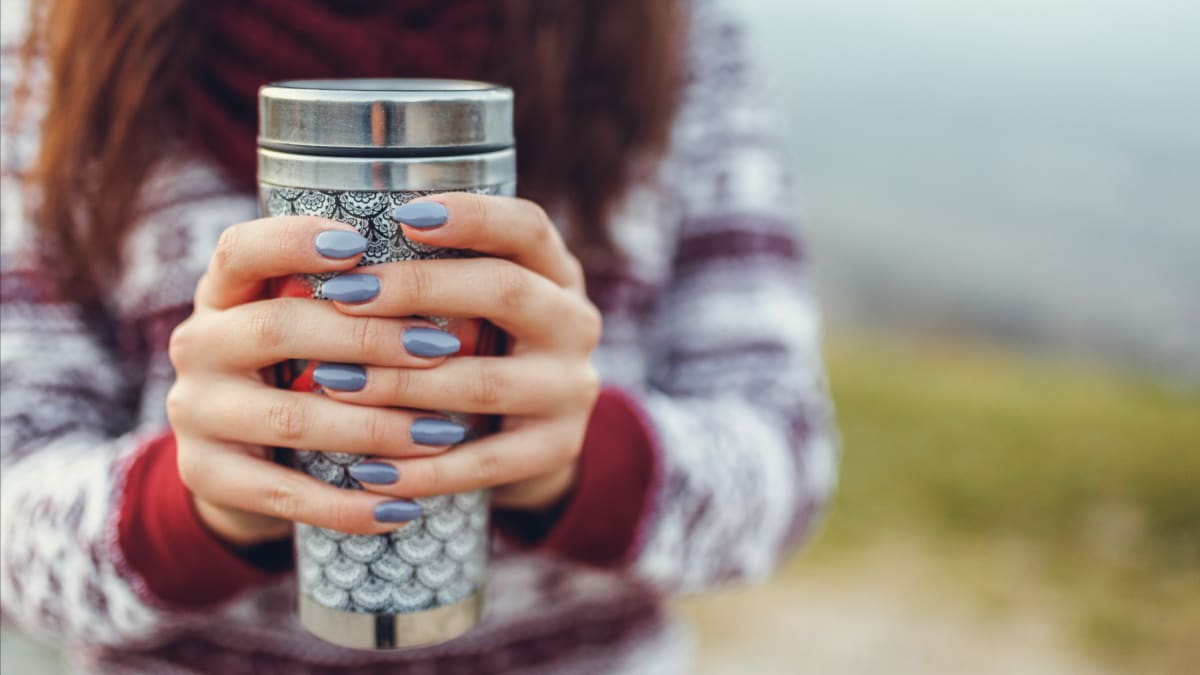 Your travel tumbler lid is probably full of mold—here's how to clean it
