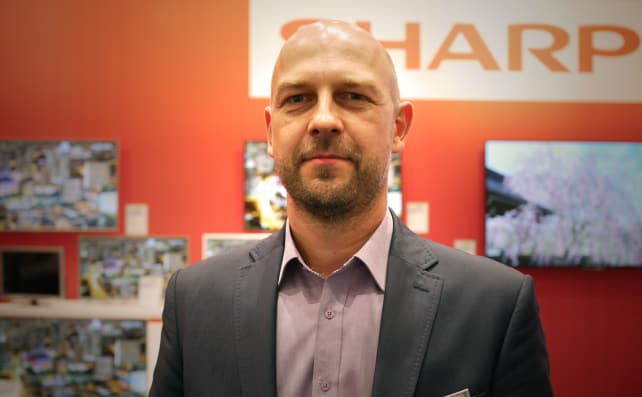 Adrian Wysocki of UMC Sharp Europe