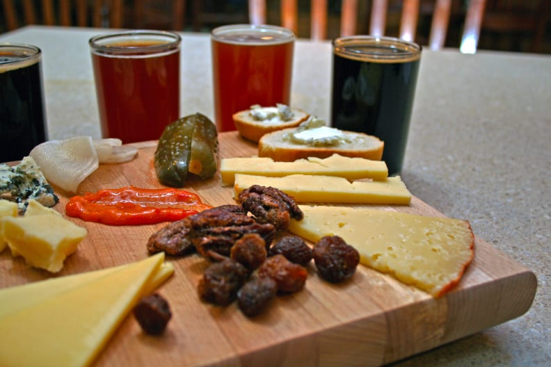 Beer and Charcuterie