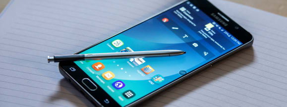 Samsung galaxy note 5 review hero