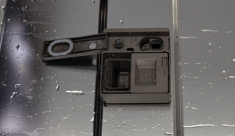 KitchenAid KDTM704ESS detergent and rinse aid dispenser