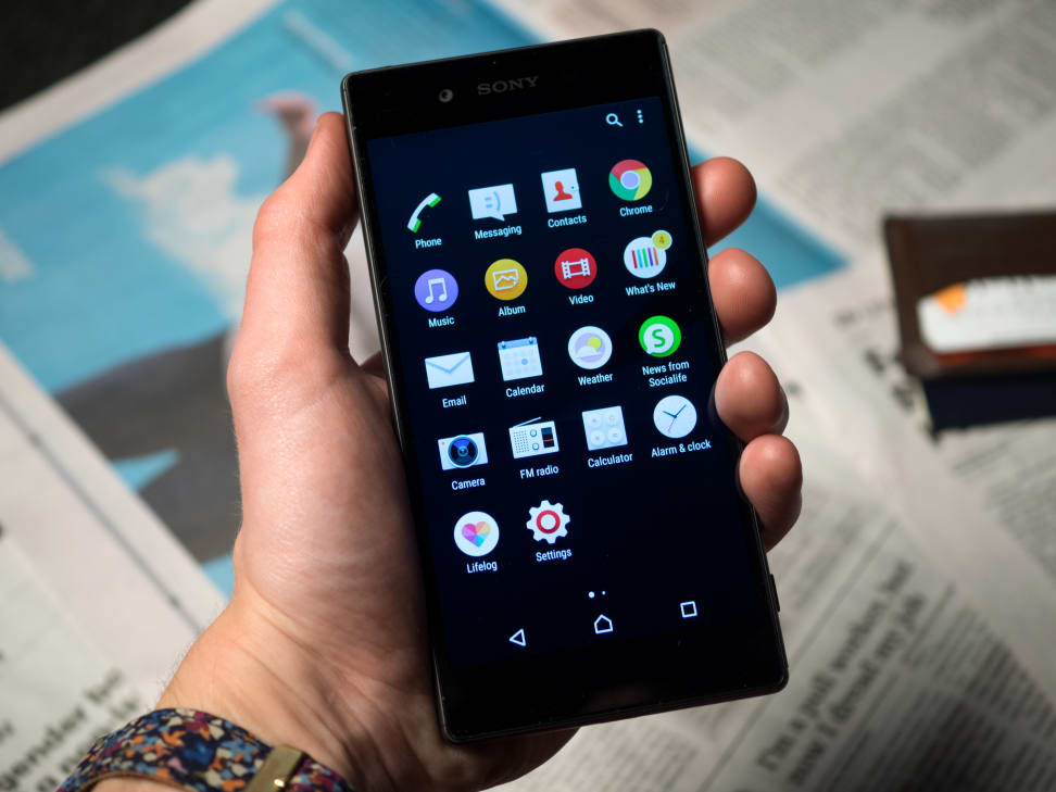Sony Xperia Z5 In Use
