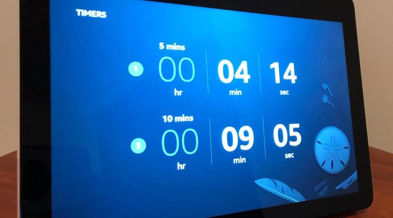 Amazon Echo Show Timers