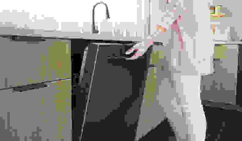 Bosch-black-stainless-dishwasher