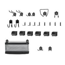 Gladiator wall storage hook accessory kit