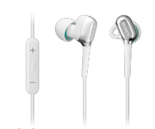 SONY XBA-C10IP-WHI Balanced Armature Headphones with iPad/iPhone Remote Headphones