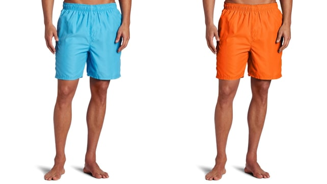 Kanu Surf Men's Havana Elastic Waist Swim Trunk