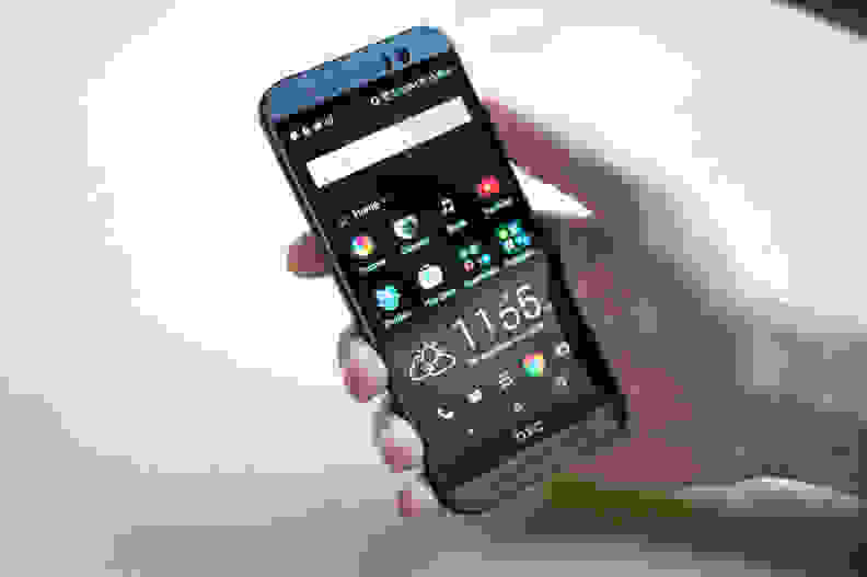 HTC One M9 Home Screen