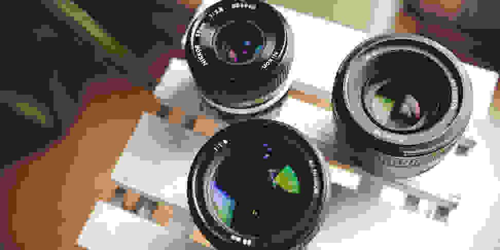 Prime lenses provide superior image quality with less bulk