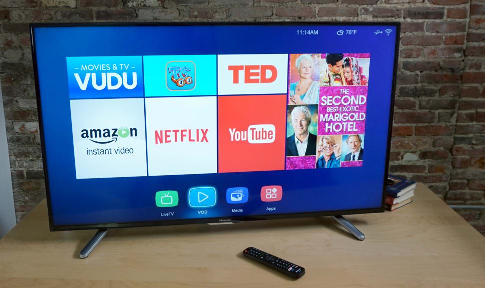 Hisense 50H7GB 4K LED TV Review - Reviewed Televisions